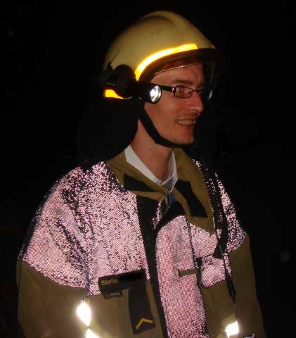 LED Lenser M7R im Feuerwehreinsatz